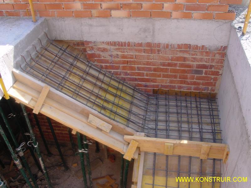 Detalle de la imagen for Construccion de escaleras de concreto armado
